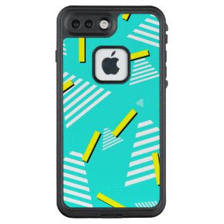 Teal 90s Inspired Design Phone Case