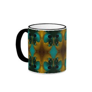 Teal Abstract Mug