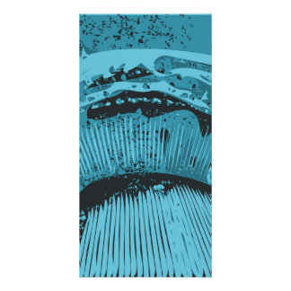 Teal Abstract. Photo Card