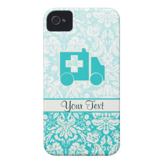 Teal Ambulance Case-Mate iPhone 4 Case