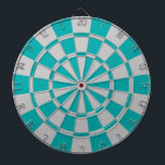 "Teal And Gray Dart Board<br><div class=""desc"">Teal And Gray Dart Board</div>"