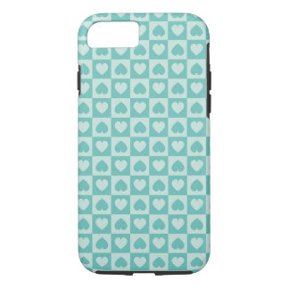Teal and Light Teal iPhone 7 Case