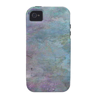 Teal and Lilac Abstract iPhone 4/4S Covers