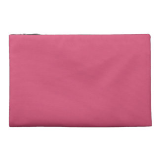 Teal and Pink Paris Travel Accessory Bag