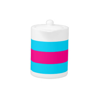 Teal and Pink Stripes