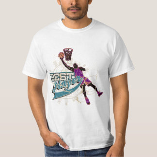 Teal and Purple Basketball Tshirts and Gifts