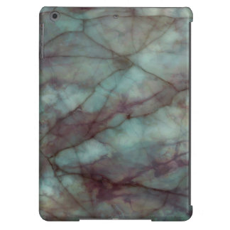 Teal and Purple Fluorite Marble Case For iPad Air