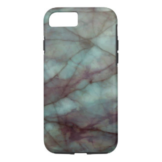 Teal and Purple Fluorite Marble iPhone 8/7 Case