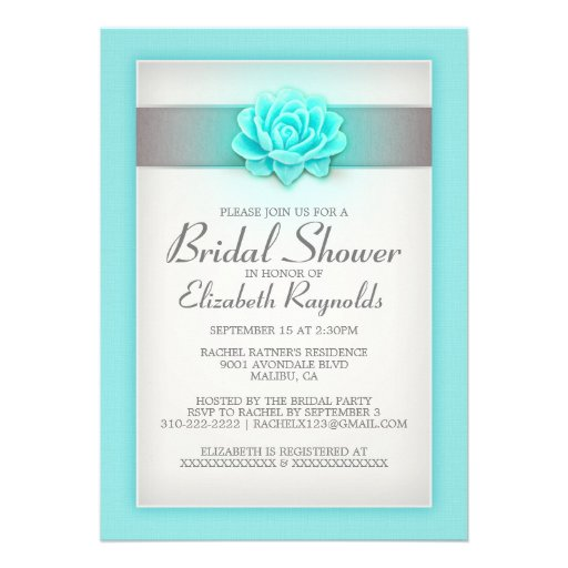 teal_and_silver_bridal_shower_invitations ...