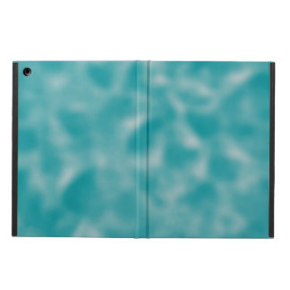 Teal and White Mottled iPad Air Cover