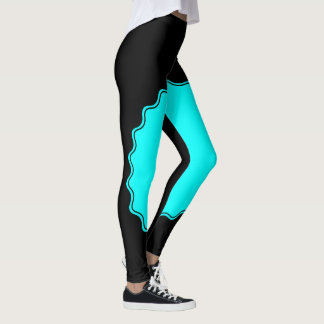 Teal appeal leggings