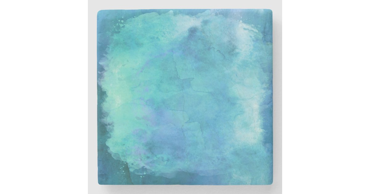The Texture Of Teal And Turquoise: Teal Aqua Blue Teal Watercolor Texture Pattern Stone
