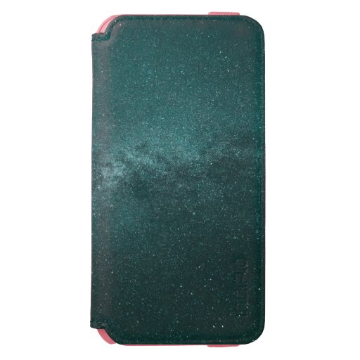 - Teal astro iPhone 6/6s Wallet Case