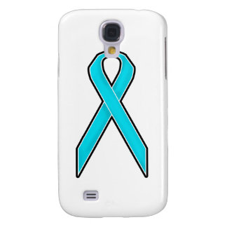 Teal Awareness Ribbon Galaxy S4 Cover