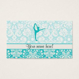 Teal Ballet Business Card