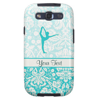Teal Ballet Galaxy S3 Cover