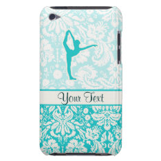 Teal Ballet Case-mate Ipod Touch Case at Zazzle