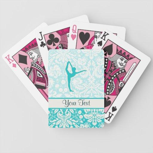 Teal Ballet Deck Of Cards
