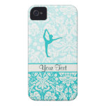 Teal Ballet iPhone 4 Case-Mate Case