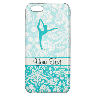 Teal Ballet iPhone 5C Cases