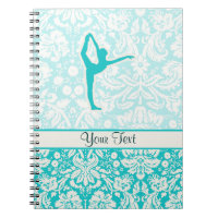 Teal Ballet Notebook