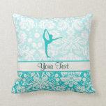 Teal Ballet Pillows