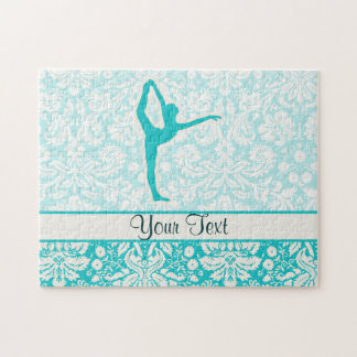 Teal Ballet Jigsaw Puzzles