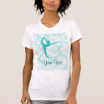 Teal Ballet T-shirts