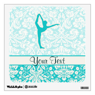 Teal Ballet Wall Graphic