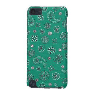 Teal Bandana iPod Case iPod Touch (5th Generation) Case