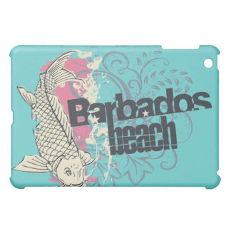 Teal Barbados Beach  iPad Mini Cover