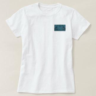 Teal & Black Monogram Filigree Tshirt