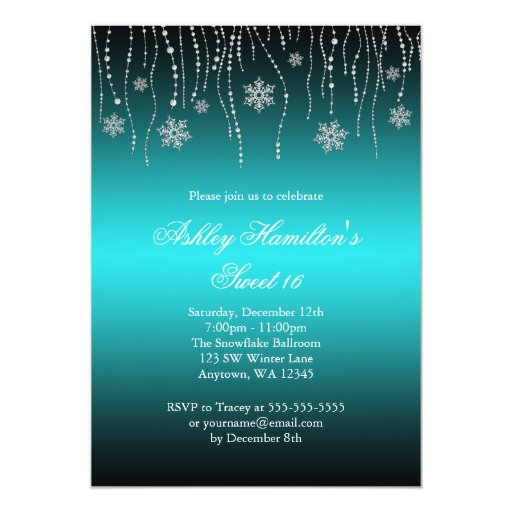 Winter Onderland Invitations for adorable invitations ideas