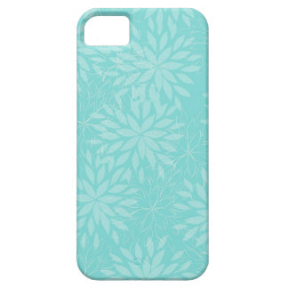Teal Blossum Abstract iPhone5 Case