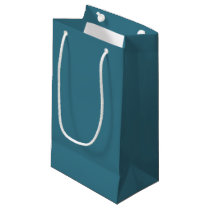 Teal Blue Gift Bag