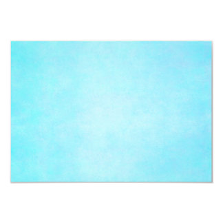 "Teal Blue Light Watercolor Template Blank 3.5"" X 5"" Invitation Card"