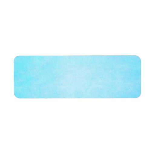 teal blue light watercolor template blank label