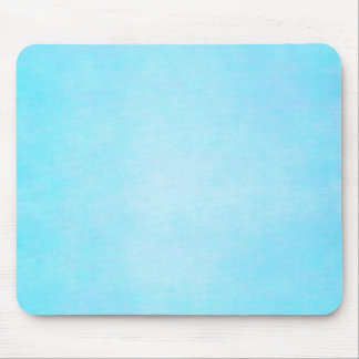 Teal Blue Light Watercolor Template Blank Mouse Pad