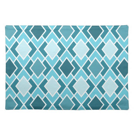 Teal Blue Modern Diamond Geometric Pattern Placemat Zazzle : tealbluemoderndiamondgeometricpatternplacemat r1ff9a311db2b4089ab4c6d624a0782af2cfku8byvr512 from www.zazzle.com size 512 x 512 jpeg 64kB