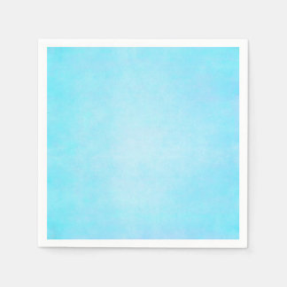 Teal Blue Watercolor Aqua Water Color Background Napkin
