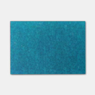 Teal Blue Watercolor Aqua Water Color Background Post-it Notes