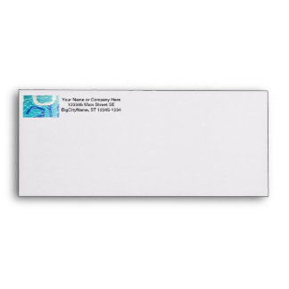 teal blue white abstract wall image grafitti envelope