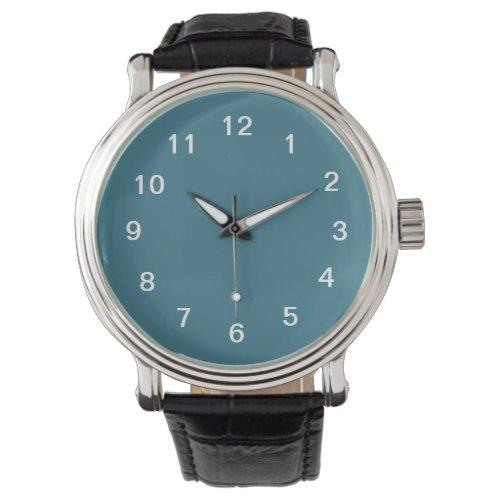 Teal Blue Wrist Watch