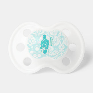 Teal Boxing Pacifier