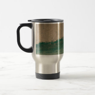 Teal Breaker Wave Travel/Commuter Mug