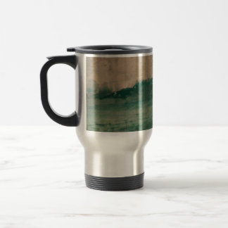 Teal Breaker Wave Travel Mug
