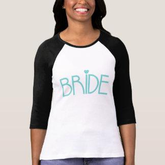 Teal Bride Shirts