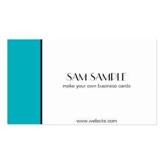 Teal Business Card