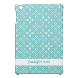 Teal Cage Vines Pattern Case For The iPad Mini