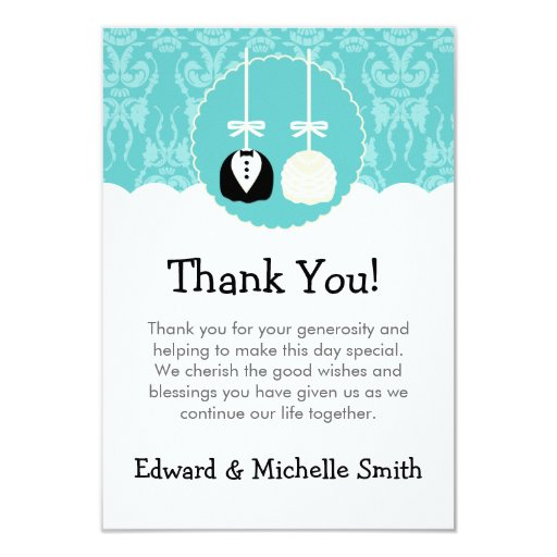 wedding cake thank you notes teal cake pop wedding thank you notes 3 5x5 paper 26246